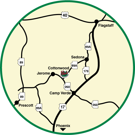 cottonwood nics map circle